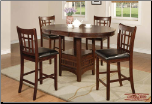 Wood  Table Top  -  Dining Set (SKU: EM-762)