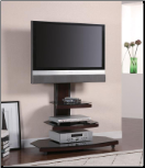 Audrey TV Stand in Gunmetal Finish - Coaster