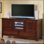 TV Stands Mission Style Media Console with Doors and Drawers by Coaster (SKU: CO-700133)