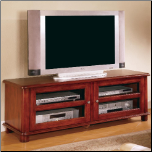 TV Stands Transitional Media Console with Doors and Shelves by Coaster (SKU: CO-700609)