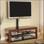 TV Stands Casual Contemporary Media Console with Bracket by Coaster (SKU: CO-700615)