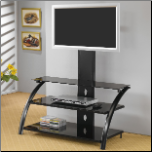 TV Stands Casual Contemporary Metal Media Console with Bracket by Coaster (SKU: CO-700617)