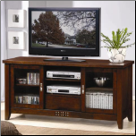 TV Stands Transitional Media Cosole with Doors and Shelves by Coaster (SKU: CO-700619)