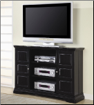 TV Stands Classic Media Console with Doors and Shelves by Coaster (SKU: CO-700636)