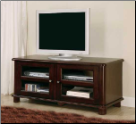 TV Stands Transitional Media Console with Doors and Shelves by Coaster (SKU: CO-700610)