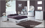 Evelyn Kids Platform Bedroom Set - White - Global Furniture