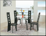 Global Furniture A08DT-BL Dining Table Set (SKU: GL-A080T-SET)