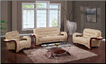 992 Living Room Set - Cappuccino - Global Furniture