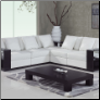 5 PCS Contemporary A130 Sectional Set - White - Global Furniture