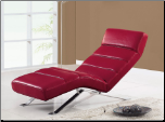 F05 Relax Chaise - Red - Global Furniture (SKU: GL-F05-CRED)