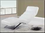 F05 Relax Chaise - White- Global Furniture (SKU: GL-F05-CWT)