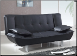SB012 Sofa Bed - Black - Global Furniture (SKU: GL-SB012-BK)