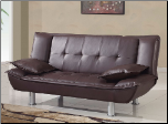 SB012 Sofa Bed - Brown- Global Furniture (SKU: GL-SB012-BR)