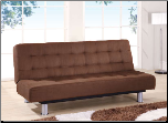 SB010 Sleeper Sofa - Brown Microfiber - Global Furniture (SKU: GL-SB010-SB)