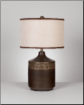 Signature Design by Ashley Lamps - Contemporary Karissa Table Lamp at Muebles Inc. (SKU: AB-L129914)