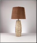 Famous Brand Lamps | Haldis Set of 2 Table Lamps Textured Beige Ceramic L136534 by Signature Design by Ashley