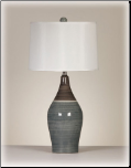 Signature Design by Ashley - Table Lamp in Multi Gray(Set of 2) (SKU: AB-L123884)