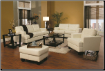 Samuel Living Room Set (SKU: CO501691-WH-LR-ST)