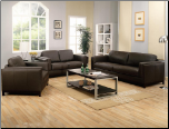 Metro Brown Living Room Set - Coaster Furniture (SKU: CO502451)