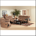 Sullivan 2 Piece Motion Sofa Set in Mocha  Microfiber COA-600341 (SKU: CO600341-RLR-SET)