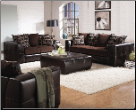 Kenneth Living Room Set in a Two Tone Cover Combination by Coaster - 501701 (SKU: CO 501701-LR)