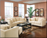 Park Place Velvet Living Room Set by Coaster - 500231 (SKU: CO 500231-LR)