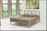 Metal Platform Queen Bed - Coaster 300201Q (SKU: CO-300201-BED)