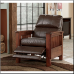 Santa Fe - Bark High Leg Recliner Signature Design by Ashley Furniture (SKU: AB-19900-RR)