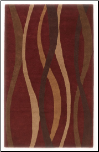 Contemporary Area Rugs Soundwave - Red Area Rug by Signature Design by Ashley (SKU: AB-R274002)