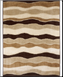 Signature Design by Ashley - Area Rug Frequency - Toffee (SKU: AB-R228002)