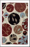 K	Ashley Signature Design Anya Leaf Rug R270002  by Signature Design