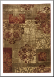 Contemporary Area Rugs Soundwave - Red Area Rug by Signature Design by Ashley (SKU: AB-R282002)