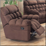 Jameson Overstuffed Microfiber Rocker Recliner by Coaster (SKU: CO-600403)