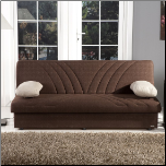Max Sleeper Sofa Bed in Naturale Brown - Sunset Furniture-Istikbal (SKU: IS-Max-S-BR)