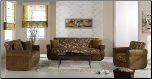Melody 2 Pcs Living Room Set in Yasemin Green (Sofa and Loveseat) - Sunset Furniture-Istikbal (SKU: IS-Melody-Set-GR)