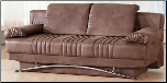 Fantasy Sofa Bed In Chocolate - Sunset Furniture - Istikbal (SKU: IS-FANTASY-CHOC-SB)