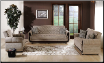 Argos Zilkade Light Brown Living Room Set - Sunset Furniture - Istikbal