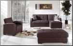 Kubo Sectional Sofa Set Andre Dark Brown - Sunset Furniture - Istikbal