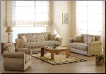 Melody 2 Pcs Living Room Set in Yasemin Beige (Sofa and Loveseat) - Sunset Furniture-Istikbal (SKU: IS-Melody-Set-BEI)