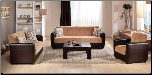 Madiosn 2 Pcs Living Room Set in Mustard (Sofa and Loveseat) - Sunset Furniture-Istikbal (SKU: IS-Madison-Set-mus)