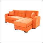 Kubo Orange Sectional Sofa - Sunset Furniture - Istikbal