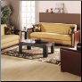 Alfa Redeyef Mustard 2 Pcs Living Room Set ( Sofa and Loveseat) - Sunset Furniture - Istikbal