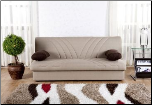 Max Sleeper Sofa Bed in Naturale Cream Sunset Furniture-Istikbal (SKU: IS-Max-S-BEI)