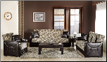 Shape 2 Pcs Living Room Set in Melani Mustard (Sofa and Loveseat) - Sunset Furniture-Istikbal (SKU: IS-Shape-Set-MUS)