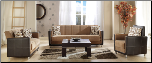 Toledo 2 Pcs Living Room Set in Phaselis Mustard (Sofa and Loveseat) - Sunset Furniture-Istikbal (SKU: IS-Toledo-S-MUST)