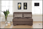 Twist Astoral Light Brown Loveseat Sleeper - Sunset Furniture-Istikbal (SKU: IS-Twist-LS)