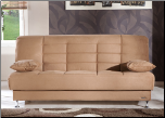 Vegas Rainbow Brown Convertible Sofa Bed - Sunset Furniture-Istikbal (SKU: IS-Vegas-S-BRW)