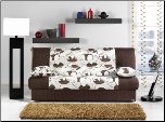 Regata Sofa Bed in Ceres Cream - Sunset Furniture-Istikbal (SKU: IS-N0135-REGATA-CR)