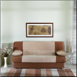 Regata Rainbow Beige/Brown Sofa Bed - Sunset Furniture-Istikbal (SKU: IS-REGATA-N0135)