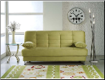 Vegas Rainbow Green Convertible Sofa Bed - Sunset Furniture-Istikbal (SKU: IS-Vegas-S-GR)